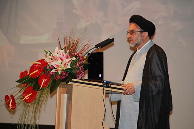 سخنرانی حجت الاسلام و المسلمین خاموشی در دومین همایش ملی فضای مجازی پاک